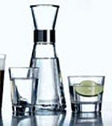 glas-vatten