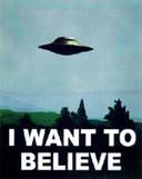 Tänk om du sett ett UFO och så tror ingen på dig!