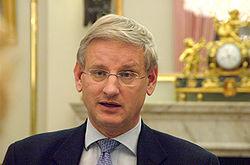 Carl Bildt slinter aldrig på tungan!