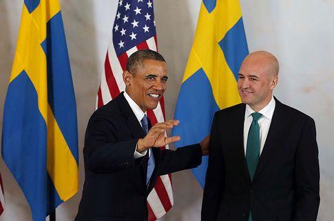 Obama kom till Sverige och sen lovade Reinfeldt att alla syrier skulle få automatiskt PUT!