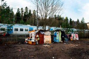 Läger i Högdalen.