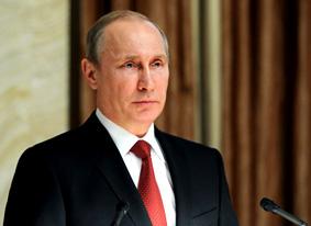 Putin utsedd som världsledaren.