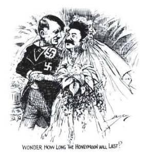 Hitler och Stalin när det begav sig!