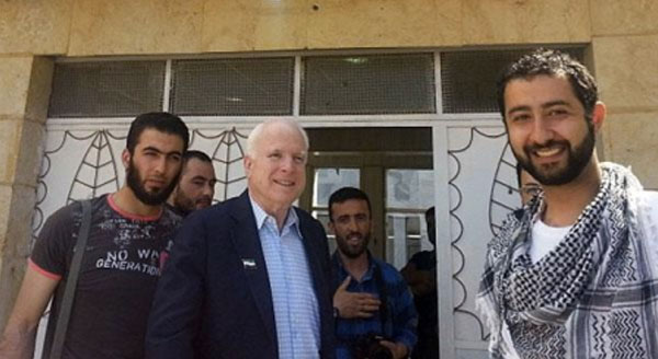 ISIS Post PR Photos They Took With John McCain