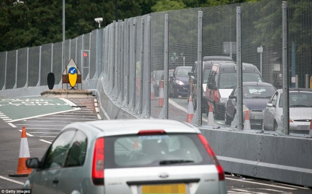 The nine feet tall fencing surrounds roads leading to the centre of Cardiff as well as Celtic Manor resort in Newport where the world leaders including Obama will meet.