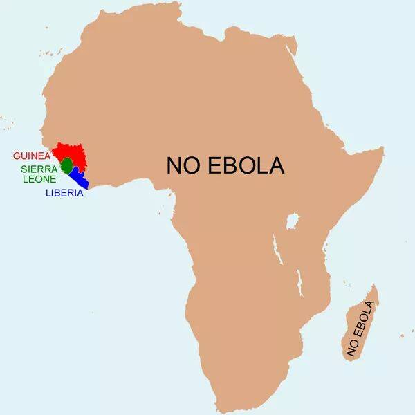 Ebola karta