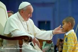 Franciskus född Jorge Mario Bergoglio 17 december 1936 i Buenos Aires, Argentina, är Katolska kyrkans 266:e påve, biskop av Rom och Vatikanstatens statschef.