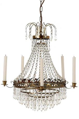 Kristallkrona i Empirestil