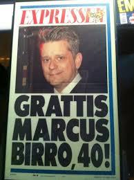 Marcus Birro Expressen