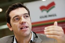 Alexis Tsipras, född 28 juli 1974 i Aten, är en grekisk vänsterpolitiker och Greklands premiärminister sedan den 26 januari 2015. Han är även partiledare för det grekiska partiet SYRIZA sedan 2009.