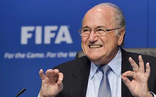 """Joseph """"Sepp"""" Blatter, född 10 mars 1936 i Visp, Valais, Schweiz, är sedan den 8 juni 1998 president för Fifa."""