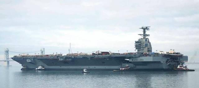 TV: USS Gerald Ford är USA:s nya hangarfartyg
