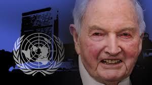 David Rockefeller, född 12 juni 1915 i New York, är en amerikansk bankman och son till oljemagnaten John D. Rockefeller, Jr. Wikipedia