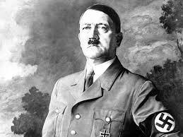 Adolf Hitler - Tysklands diktator.