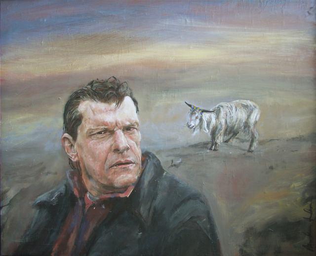 Oljemålning av Markus Andersson 2003 som ska upp i Högsta Domstolen.