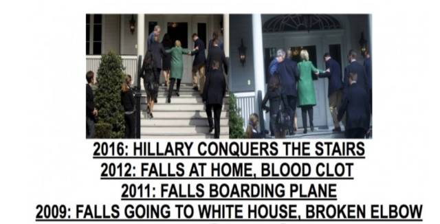 Hillary ledsagas
