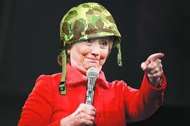 Hillary med kruka