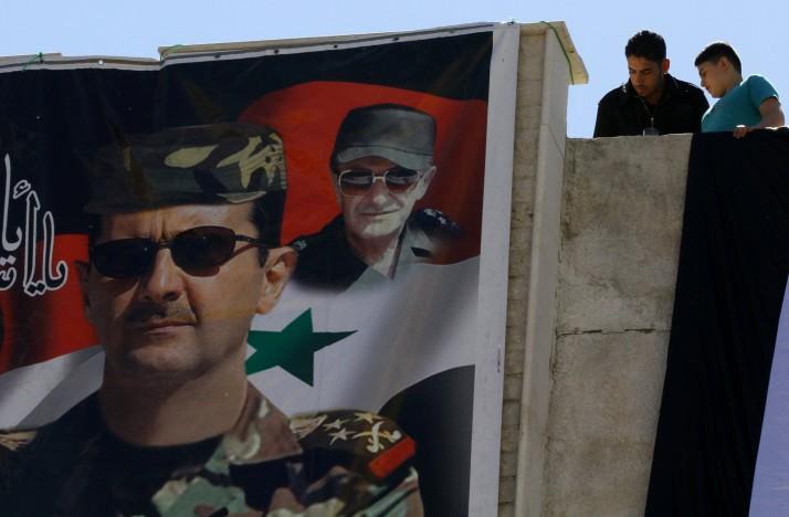 Al assads bombplan anfaller damaskus