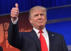 Donald John Trump, född 14 juni 1946 i New York, är en amerikansk företagsledare som är styrelseordförande och vd för konglomeratet Trump Organization.