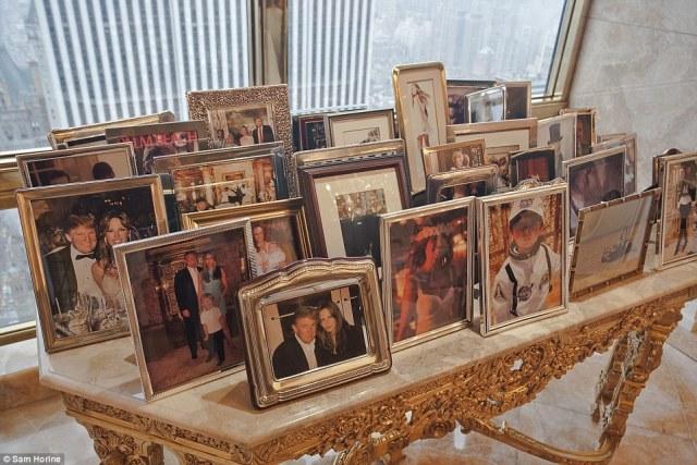 En familjefar blir en av Amerikas största ledare genom tiderna. Foton på familjen.