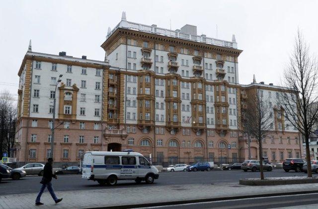 Amerikanska ambassaden i Moskva.