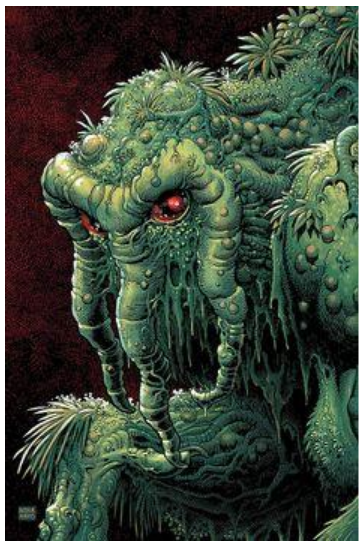 CIA! The swamp monster!